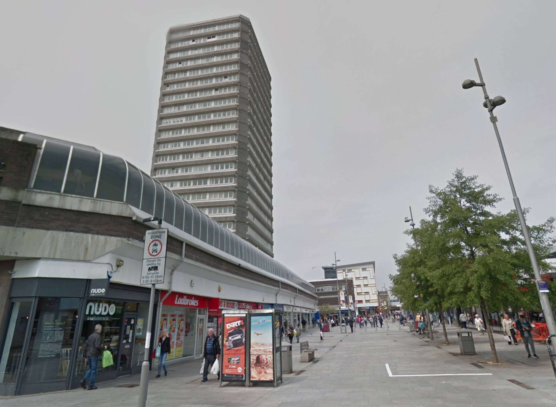 Sunderland's Business Improvement District (BID) warned people against people urinating and defacating in the city centre. (Google)