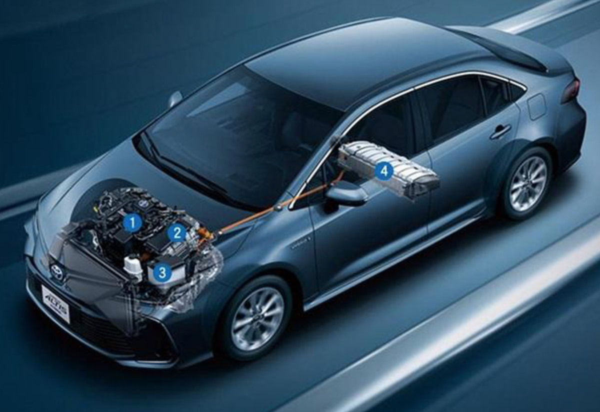泰國原廠近來公布大改款 Altis 規格,有 1.8 升 NA、1.8 升油電、1.6 升 NA 三種引擎。