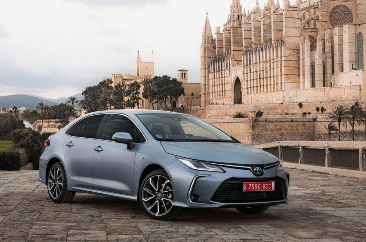 在亞洲市場中,台灣算是相當早上市大改款 Toyota Altis 的國家。