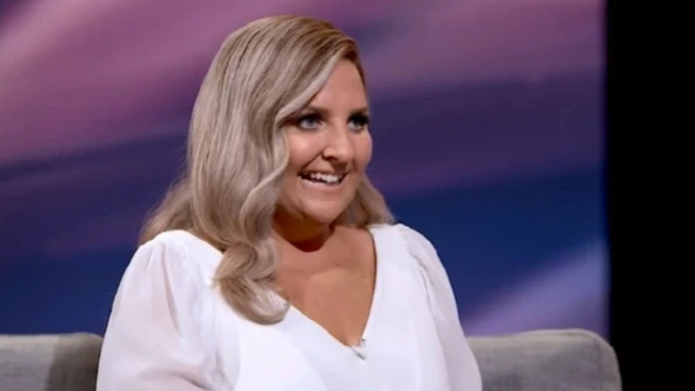 Joanna pledged to lose half her body weight before her wedding. Photo: Channel Nine