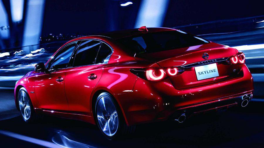 新發表的Nissan Skyline四門房車看來有那麼點像是GT-R呢