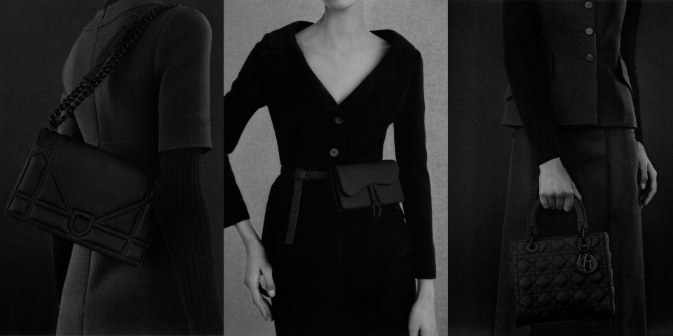 終於等到!DIOR ULTRABLACK極黑系列三款經典包款「黑化」擁抱最極致的暗黑美學