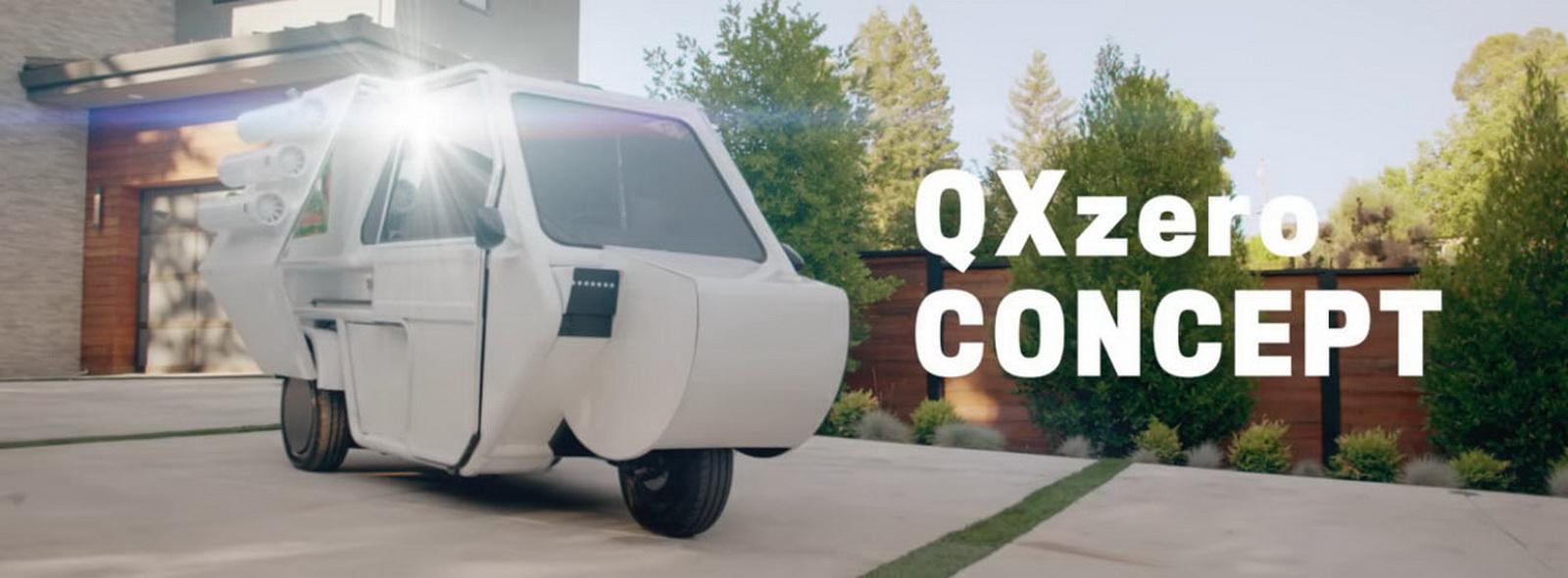 圖/本段影片以「The Future of Luxury」為主題,要介紹的是QXzero CONCEPT。