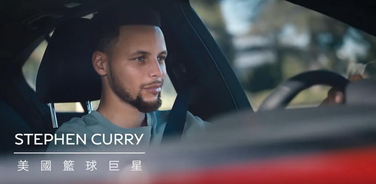 圖/Infiniti長久以來與NBA球星Stephen Curry保持合作關係,先前拍攝的Q50電視廣告,也在今年NBA冠軍賽期間強力放送。
