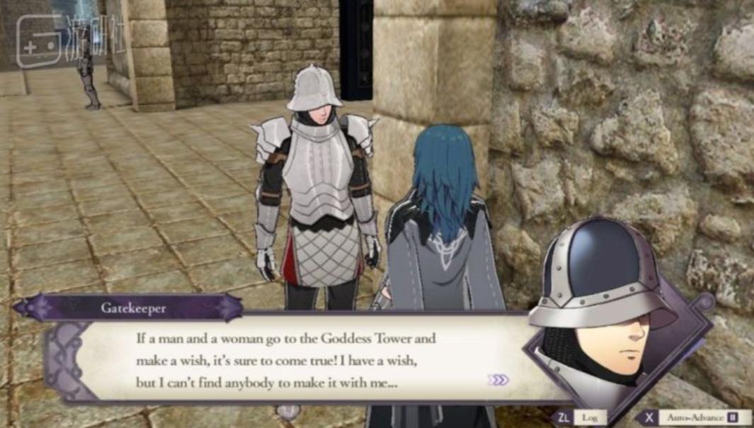 """這位修道院守門人是遊戲少數的""""醬油NPC""""之一"""