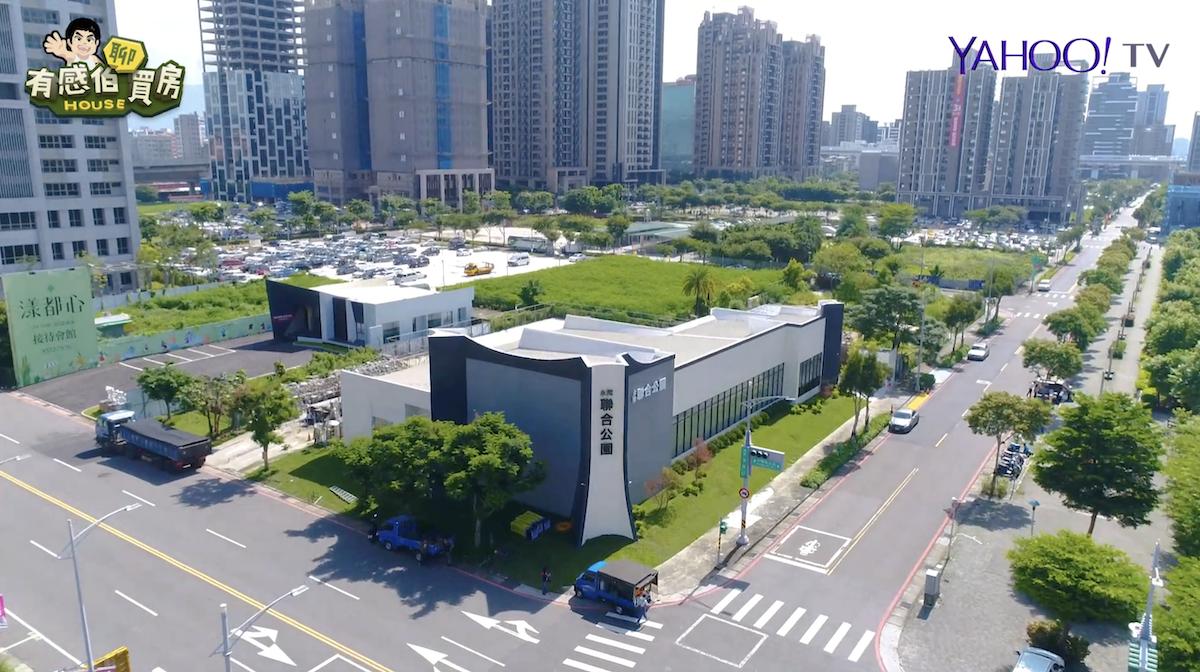 ▲距離捷運新莊副都心站僅700公尺,近期市場最受矚目的建案「聯合公園」。