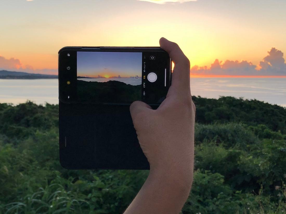 古宇利島的夕陽