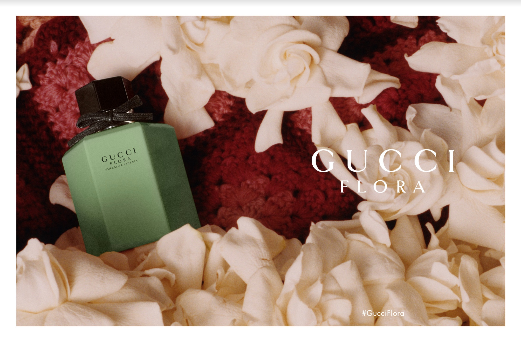 GUCCI Flora Emerald Gardenia 華麗梔子花翠綠限量版