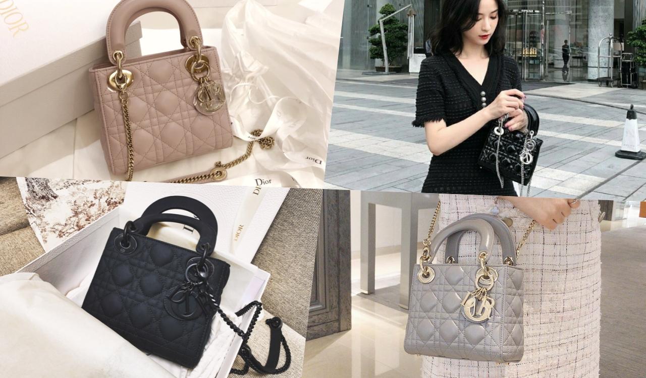 Dior的包包也是必收的品牌之一,其中最经典的Lady Dior