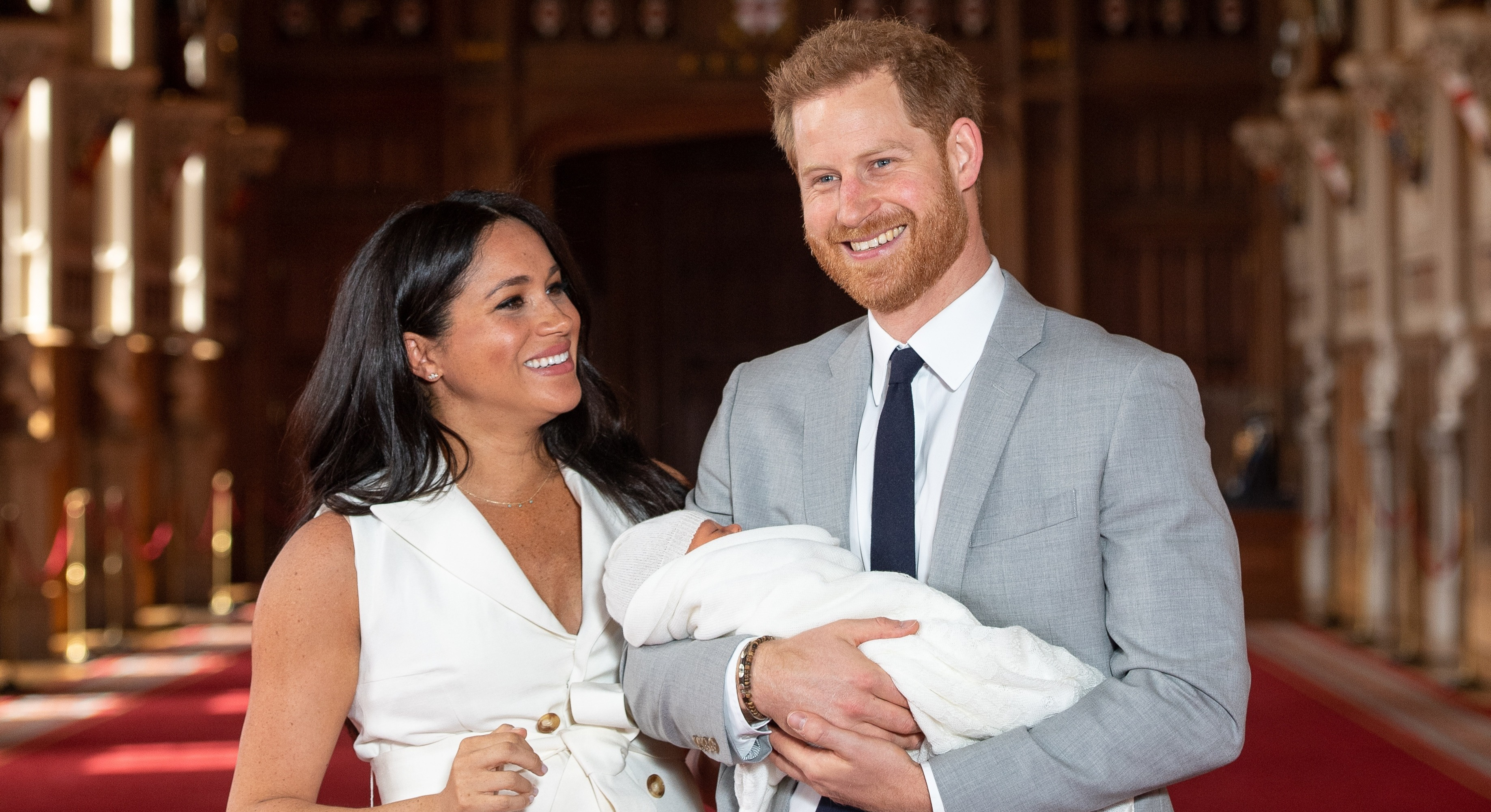 Prince Harry and Meghan Markle are reported to have hoped to move in with the Queen at Windsor Castle [Image: Getty]