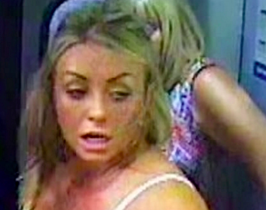 British Transport Police are looking for a woman who allegedly stormed a train driver's cabin (SWNS)