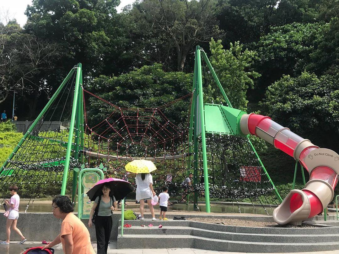 巨型盤爬架極具挑戰性!