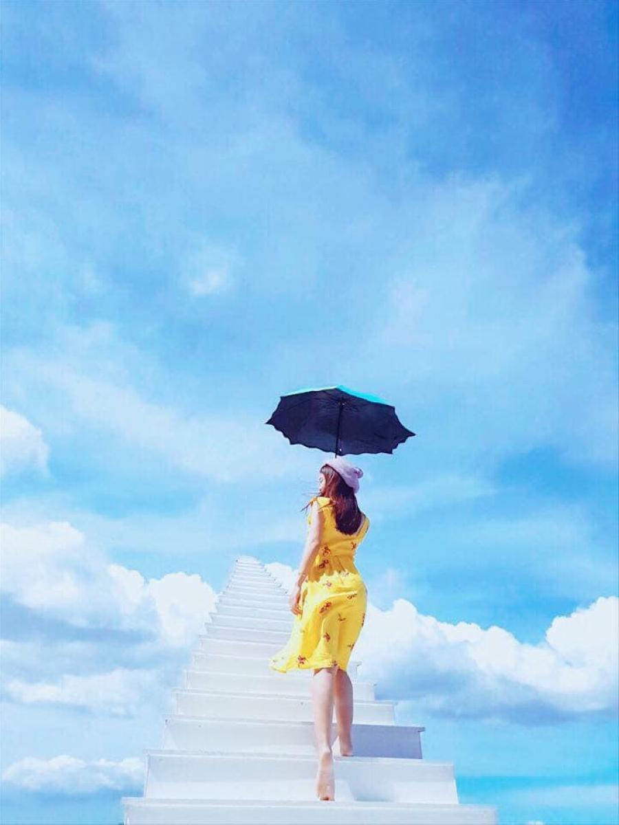 Stairway To Heaven (圖片來源:Café Nông Trại Vui Vẻ Sunny Farm – Dalat FB)