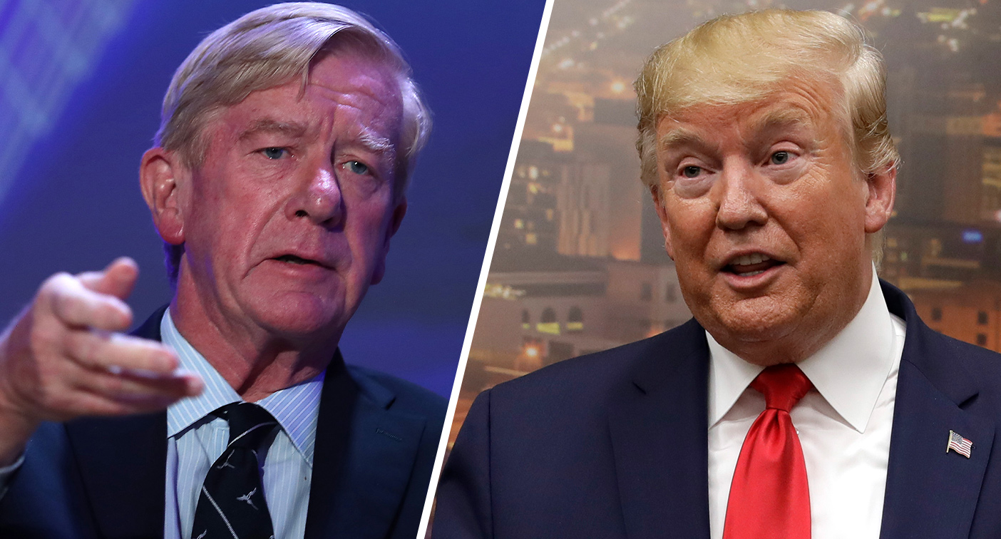 GOP challenger Weld denounces Trumps pathetic boasting in El Paso