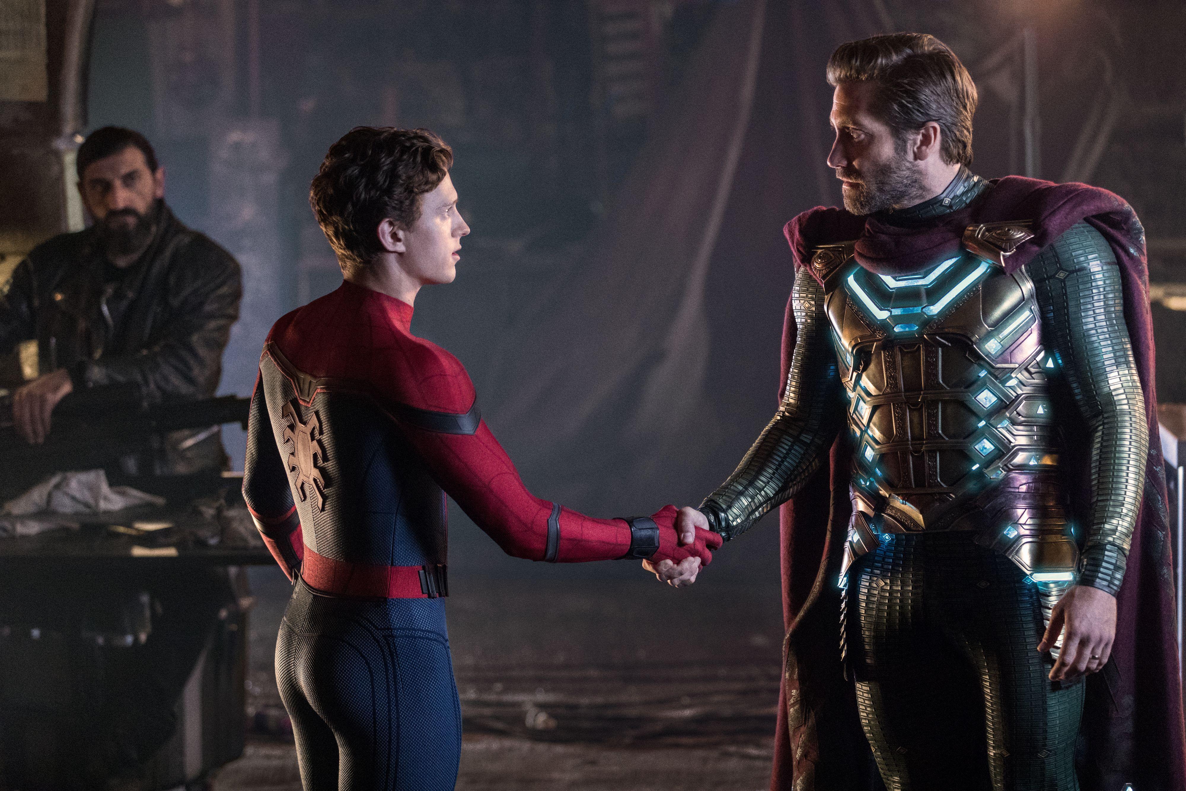 《蜘蛛人:離家日》