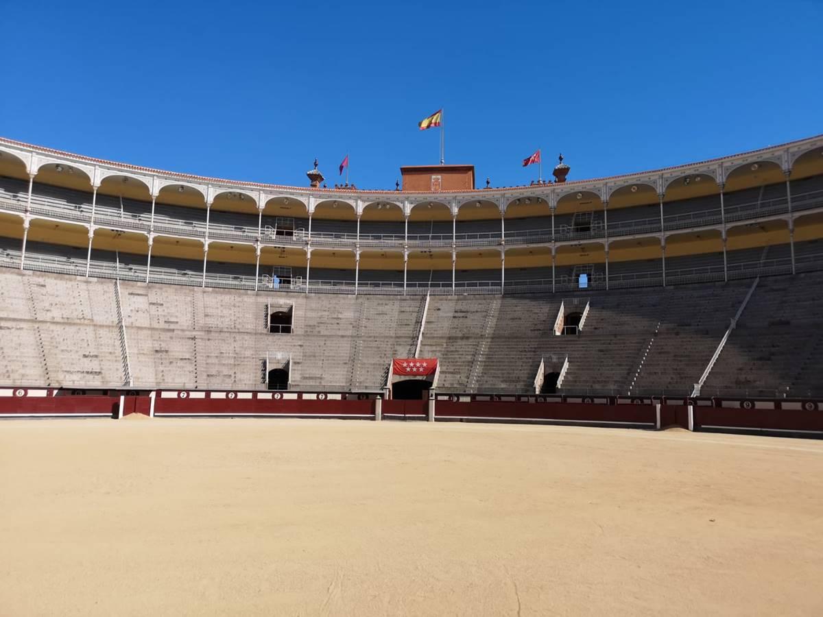 ▲參觀西班牙鬥牛場,讓劉馨如直呼壯觀。
