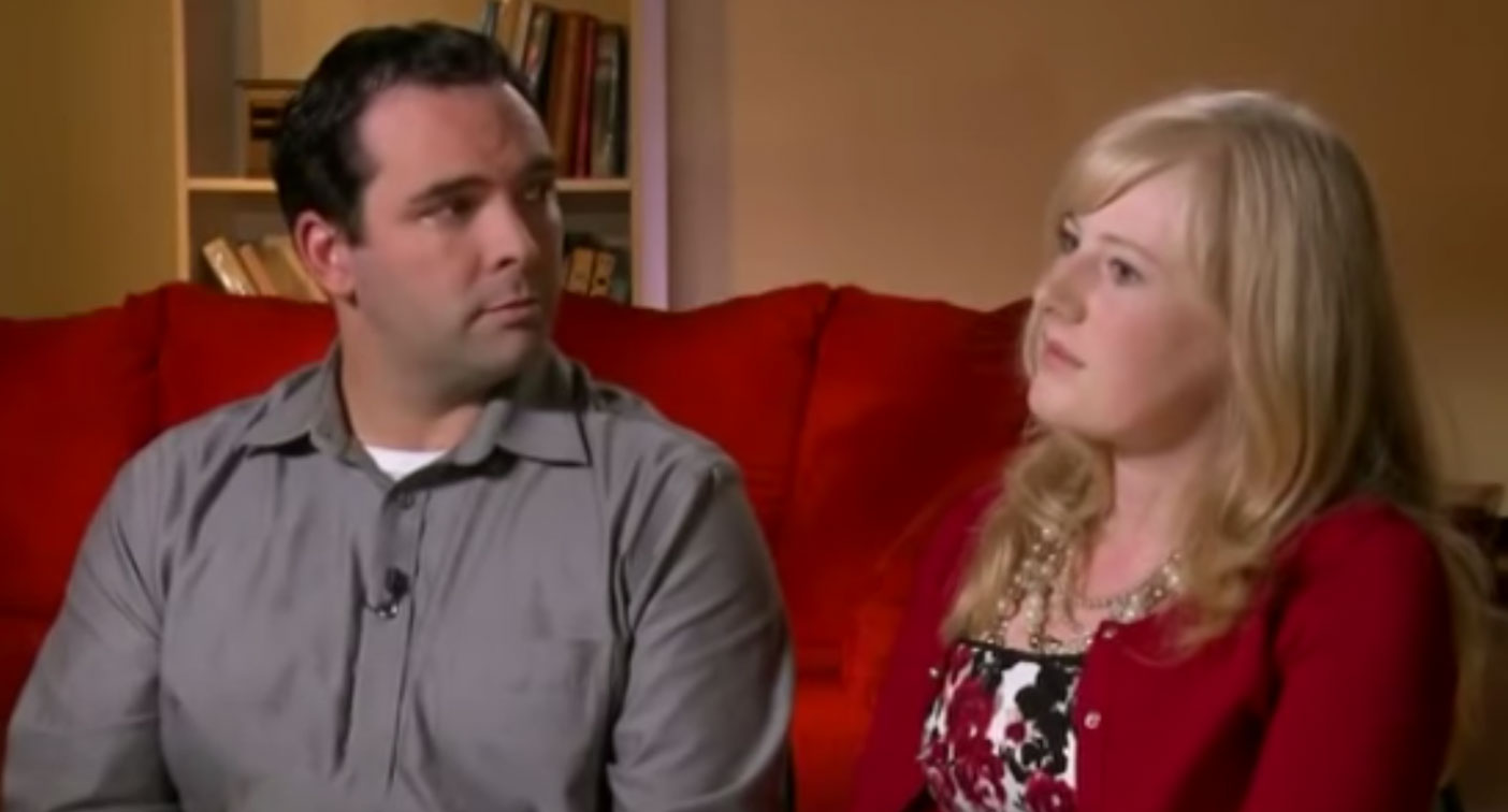 Pictured are Michael Barnett and Kristine Barnett during an interview on 60 Minutes.