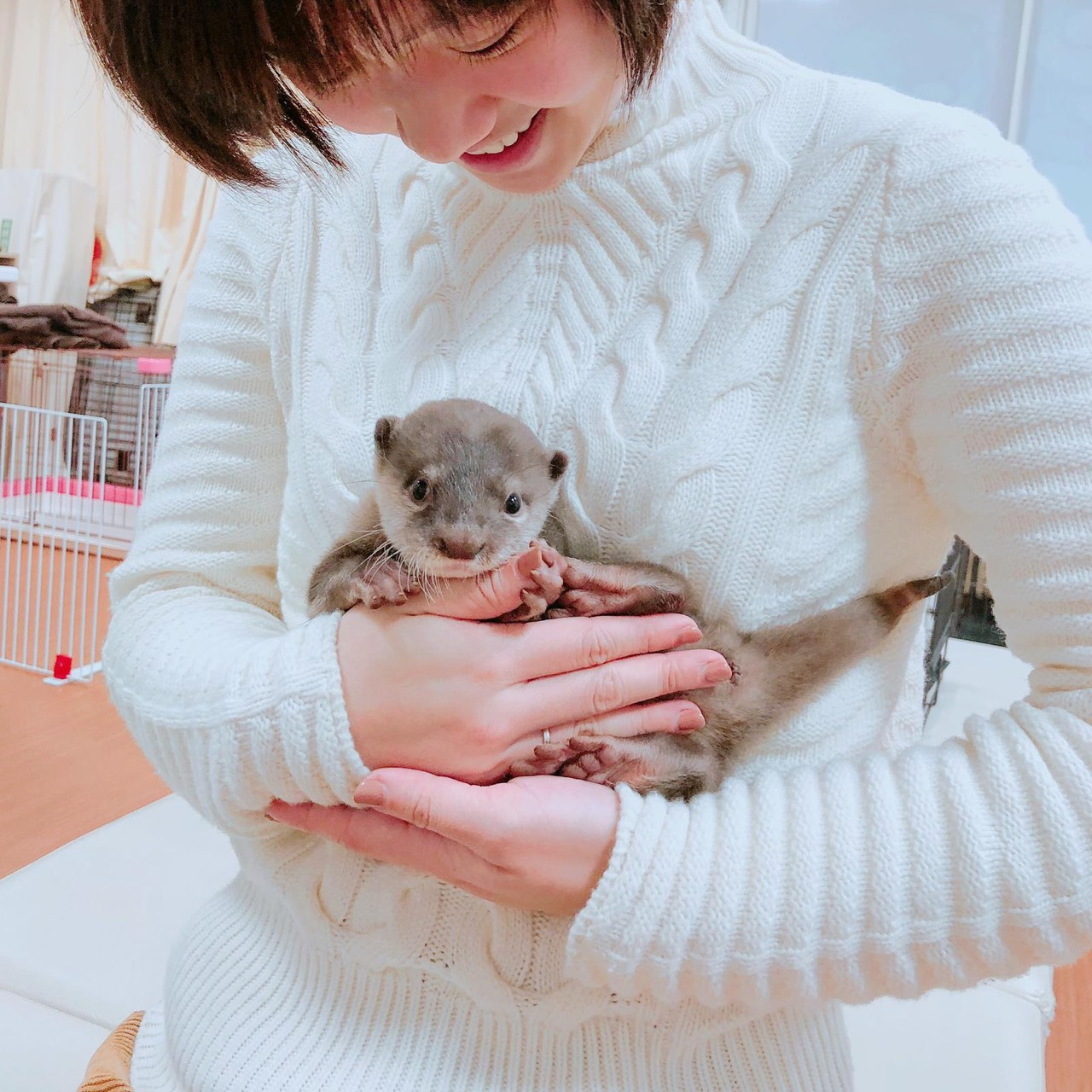 ▲下一次旅行,嚴正嵐也規劃再帶媽媽去東京探望外公、外婆。