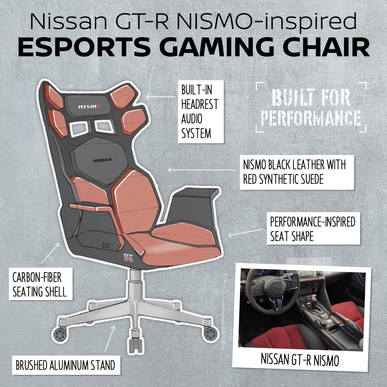 Nissan eSport chair