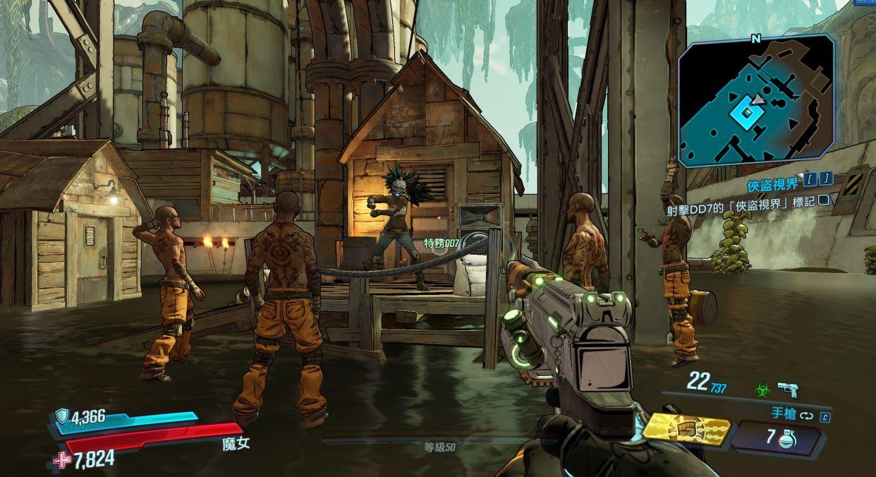 俠盜小隊的任務也非常搞笑。(圖源:Borderlands3)