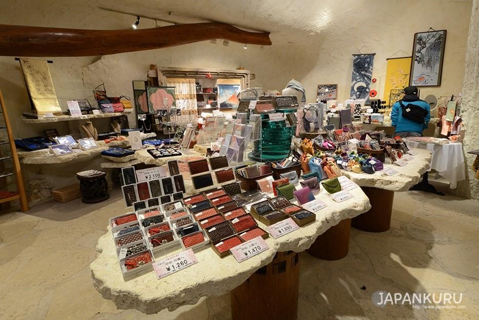 美術館內的紀念品售賣處