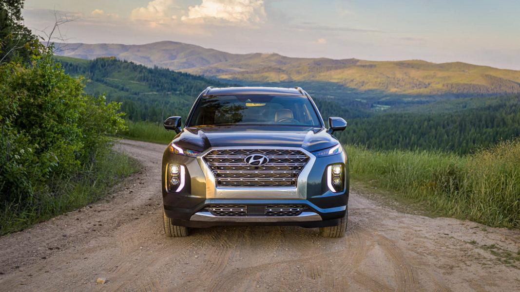 圖/2020 Hyundai Palisade的LED車頭燈足以達到最高安全級別TSP+的要求。