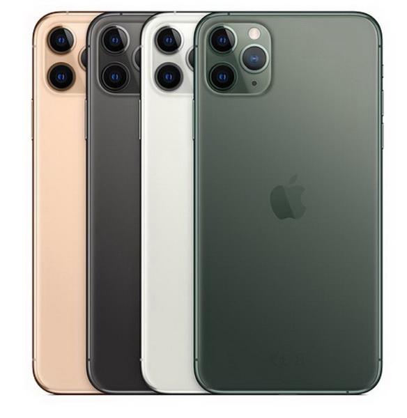 圖/iPhone 11 Pro有四種顏色,包括午夜綠、銀色;灰色、金色。(Apple官網)