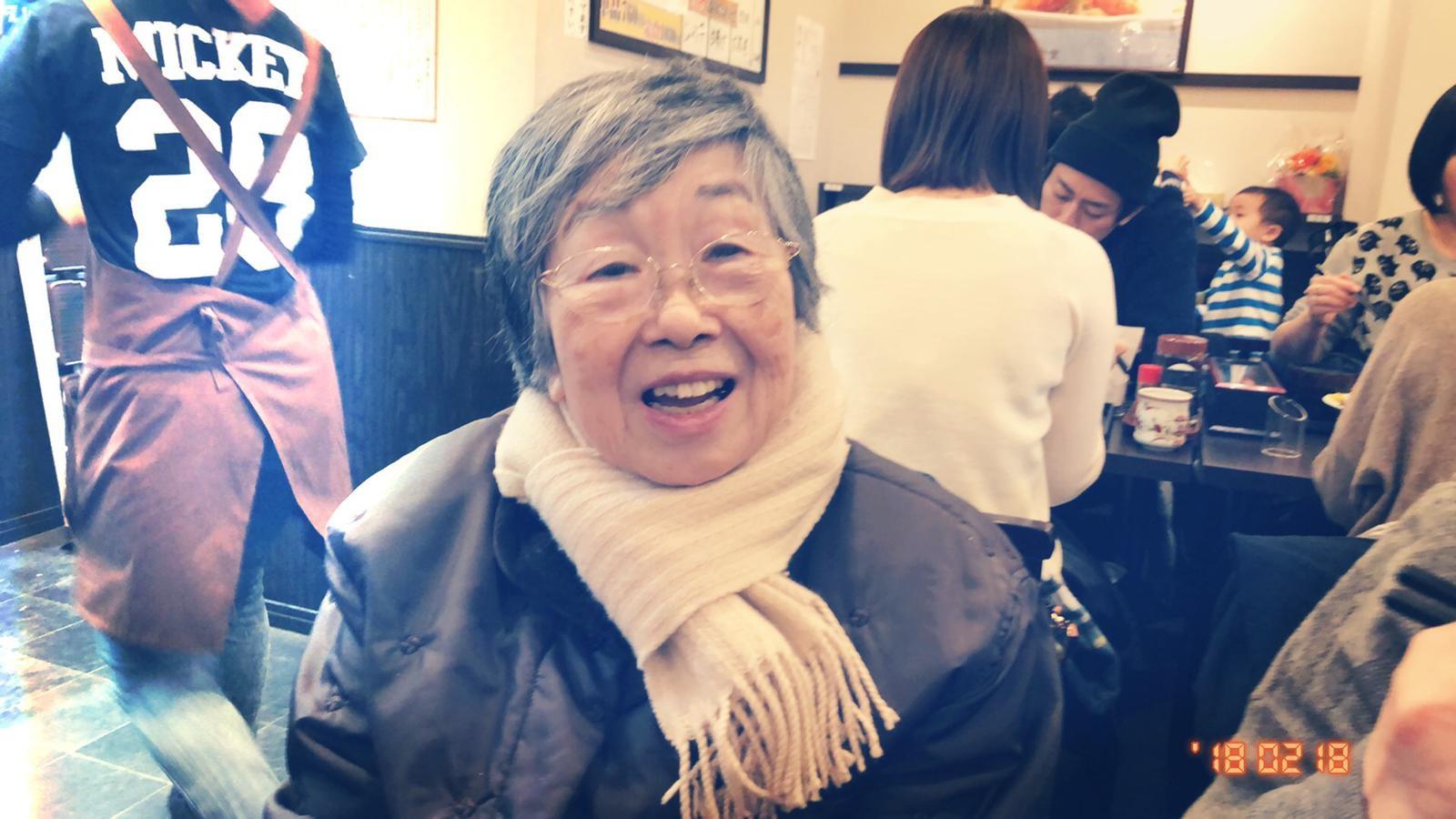 ▲嚴正嵐一家人這趟東京行最主要是要去探望在東京的外公、外婆。