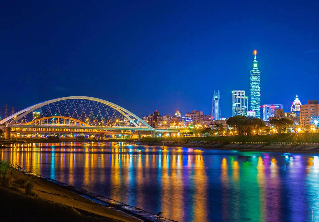 彩虹河濱公園(圖片來源:台北旅遊網)