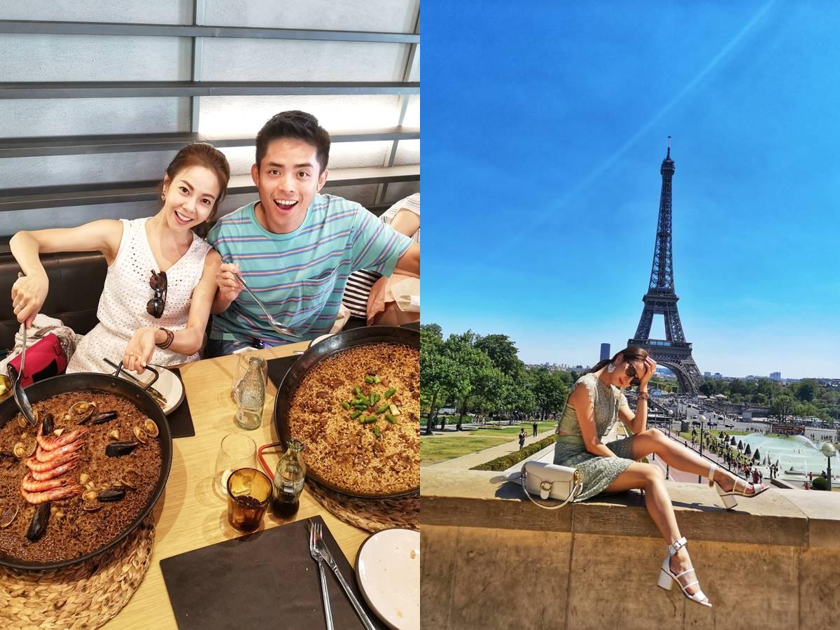 ▲劉馨如日前再度受邀參加法國、比利時以及西班牙的購物村考察團。