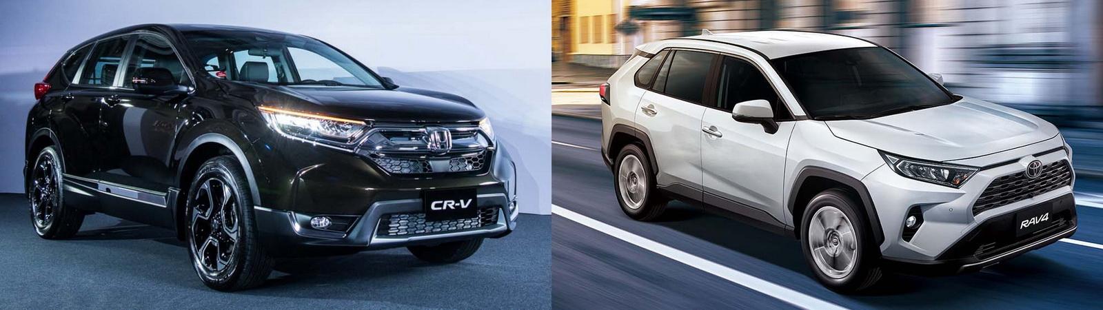 圖/2019 Honda CR-V 1.5 VTi-S與2019 Toyota RAV4 2.0旗艦休旅終極之戰。