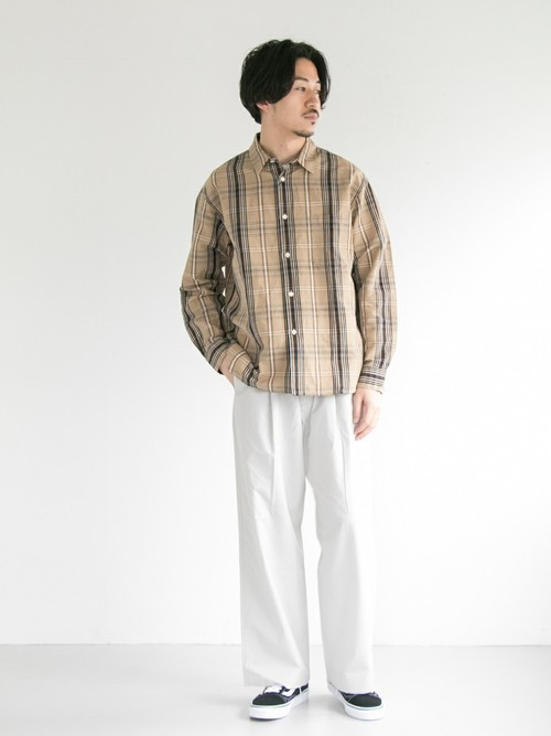 初秋襯衫穿搭  邁向休閒好感第一步!