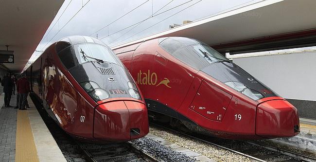圖/法拉利高速火車,由TOD'S與義大利百年家具品牌Poltrona Frau負責打造列車內裝。