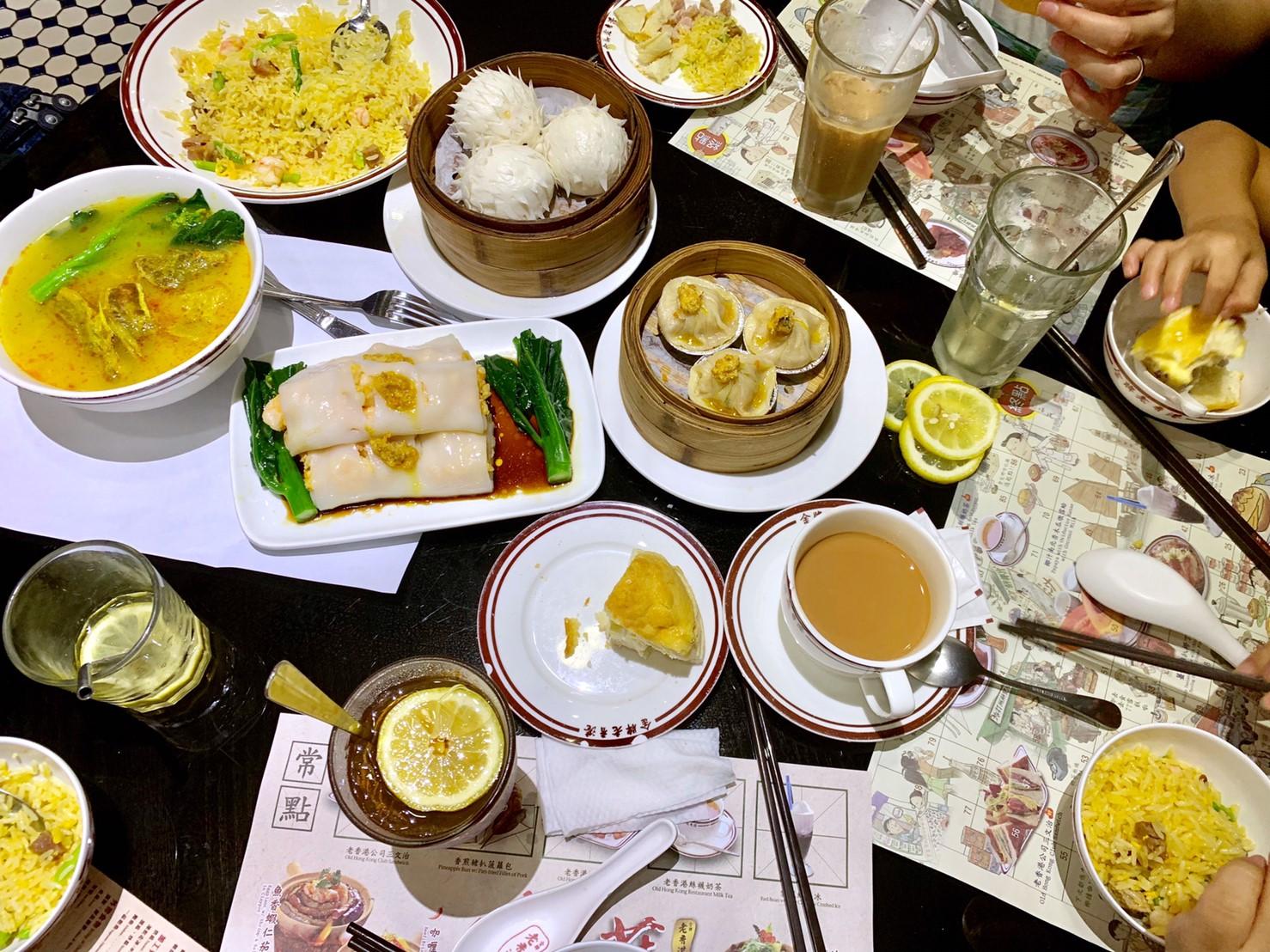 ▲澳門好吃的港式料理,就連歐莉也吃得很習慣。