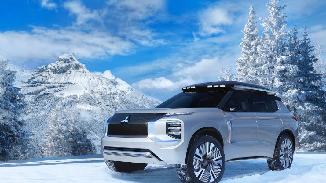 圖/新一代Mitsubishi Outlander預計明年秋天上市,是否可能就是Engelberg Tourer Concept的模樣呢?就讓我們拭目以待。