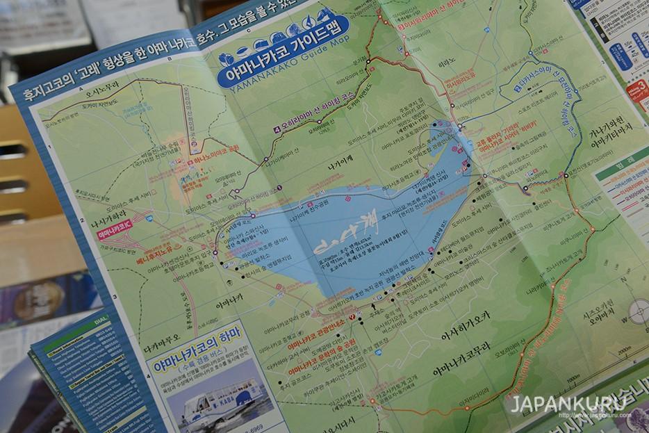 「KABA BUS 河馬巴士」是以富士五湖中的山中湖為主