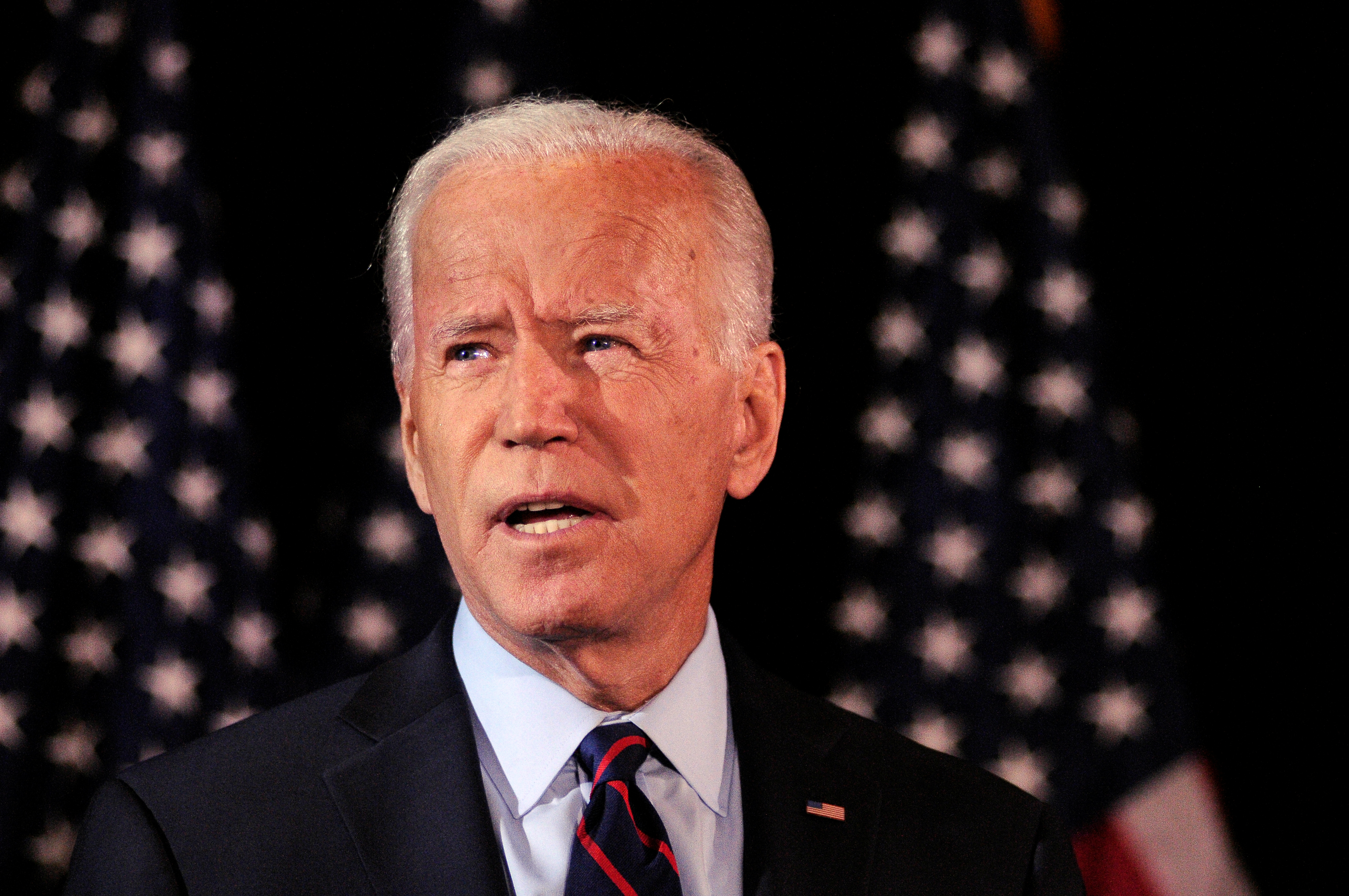 Former U.S. Vice President and Democratic presidential hopeful Joe Biden makes a statement during an event in Wilmington, Delaware, Sept. 24, 2019.  (Photo: Bastiaan Slabbers/Reuters)
