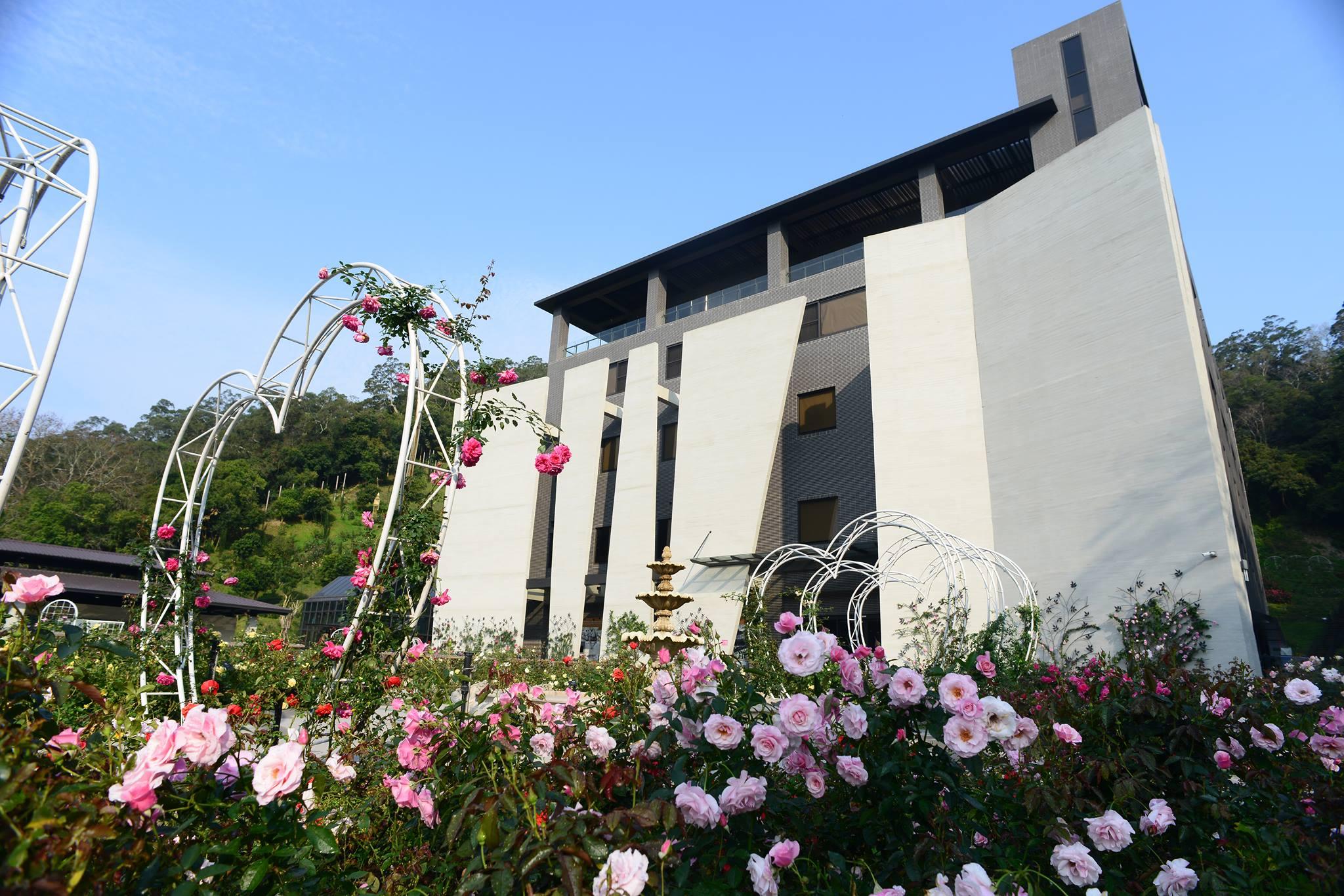 雅聞七里香玫瑰森林總面積約5公頃,號稱是全台最大、花種最豐富的玫瑰園。圖/雅聞七里香玫瑰森林臉書粉絲專頁
