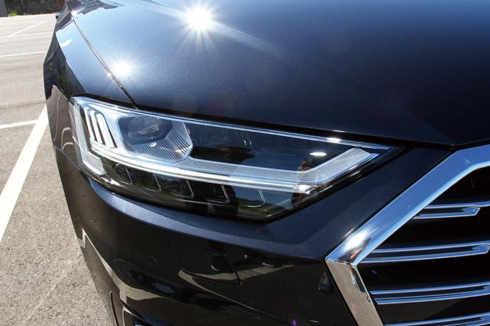 配置了HD高階矩陣式LED極光頭燈。 版權所有/汽車視界