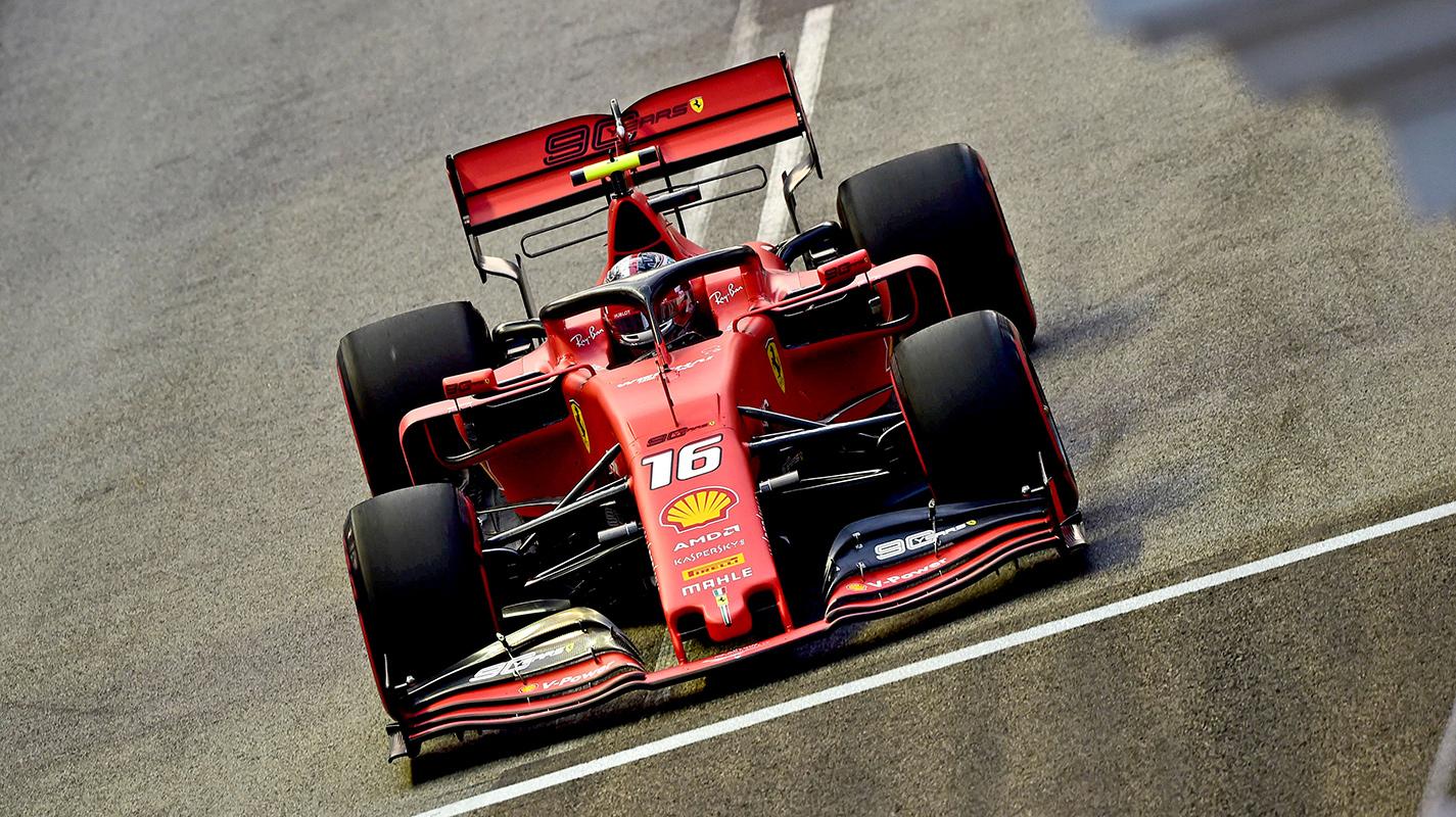Leclerc贏得意料之外的新加坡GP竿位