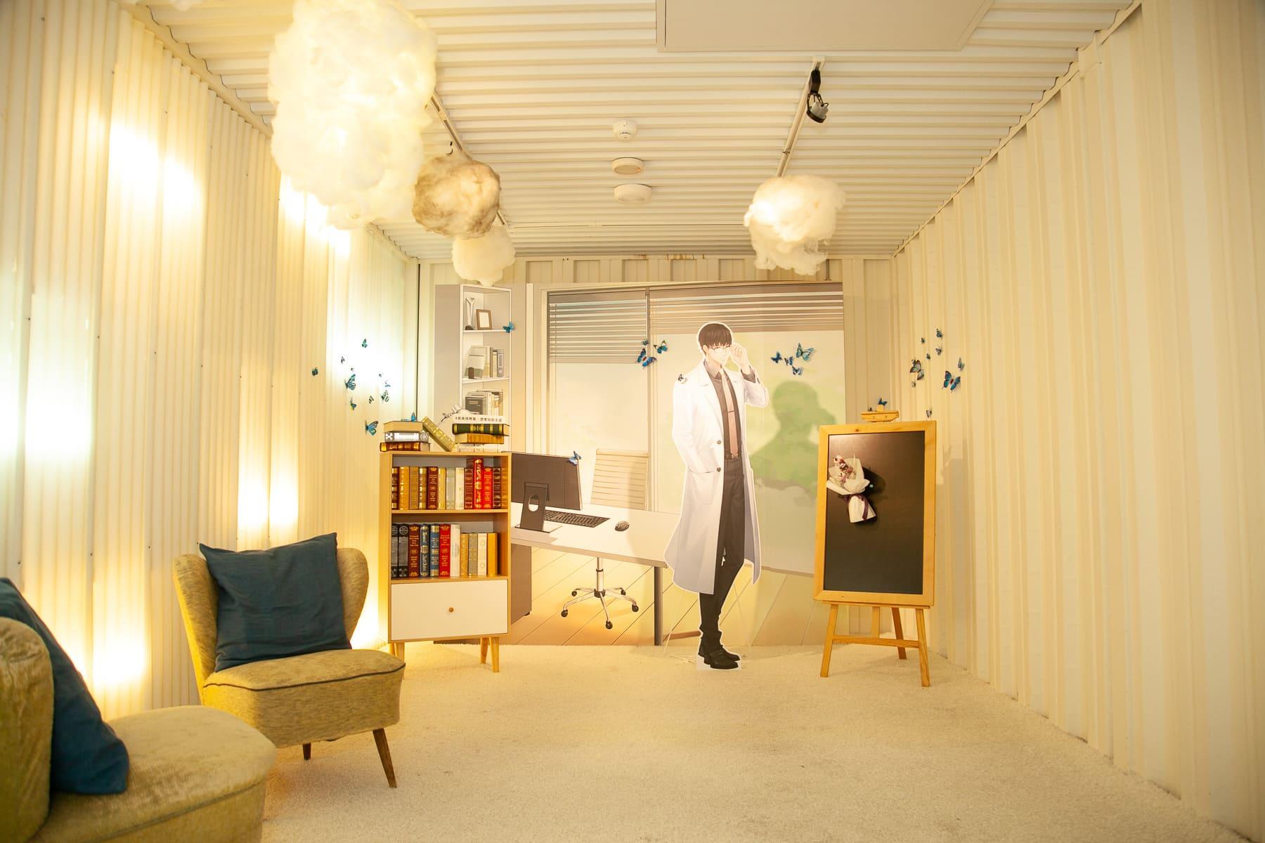 ▲許墨的研究室場景。