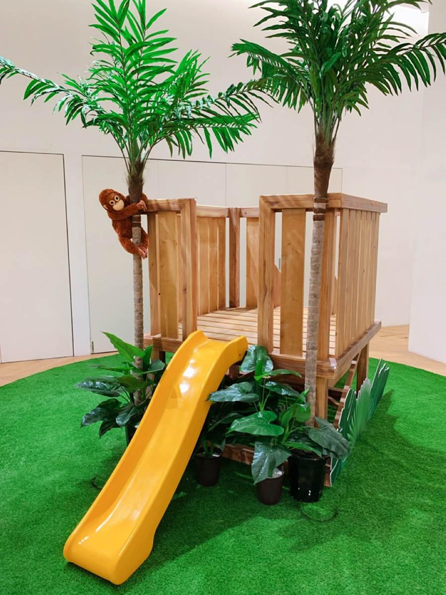 小木屋溜滑梯(圖片來源:BELLAVITA)