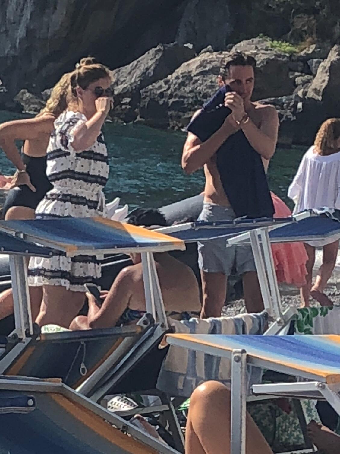 Rumours are swirling the couple could marry in Italy [Photo: SWNS]