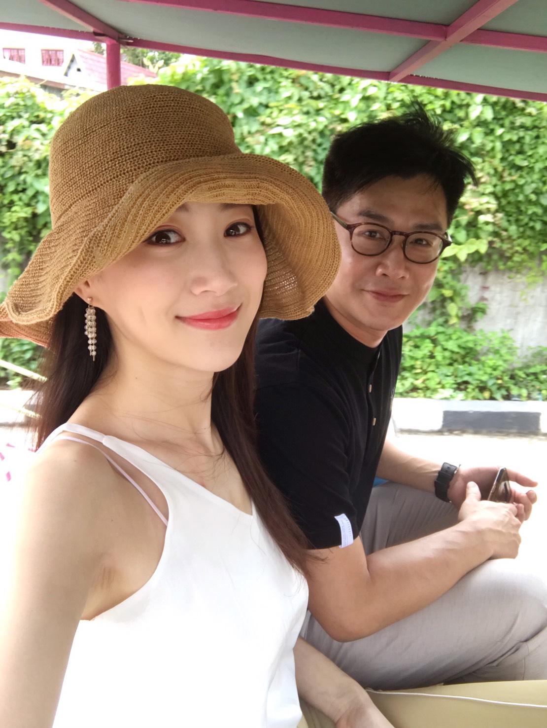 ▲對李新來說,夫妻一起旅行,會回到度蜜月的感覺。