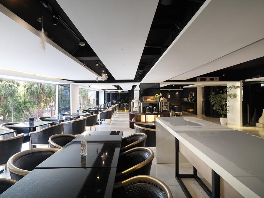二樓景觀餐廳寬敞採光好。攝影/張晨晟