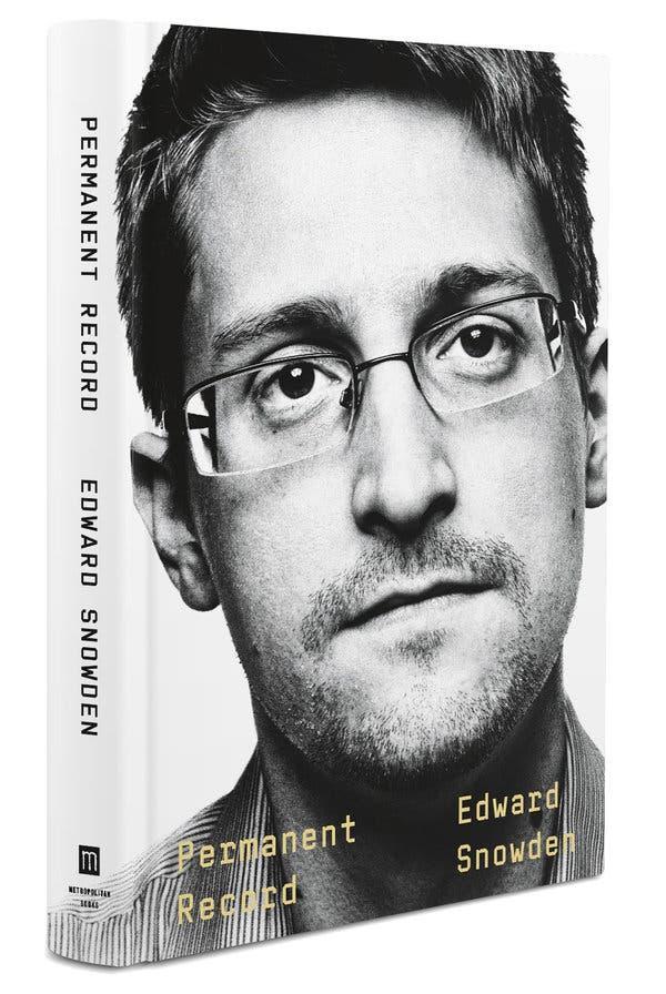 "Edward Snowden's new memoir, ""Permanent Record."" (Photo: Macmillan Publishers)"