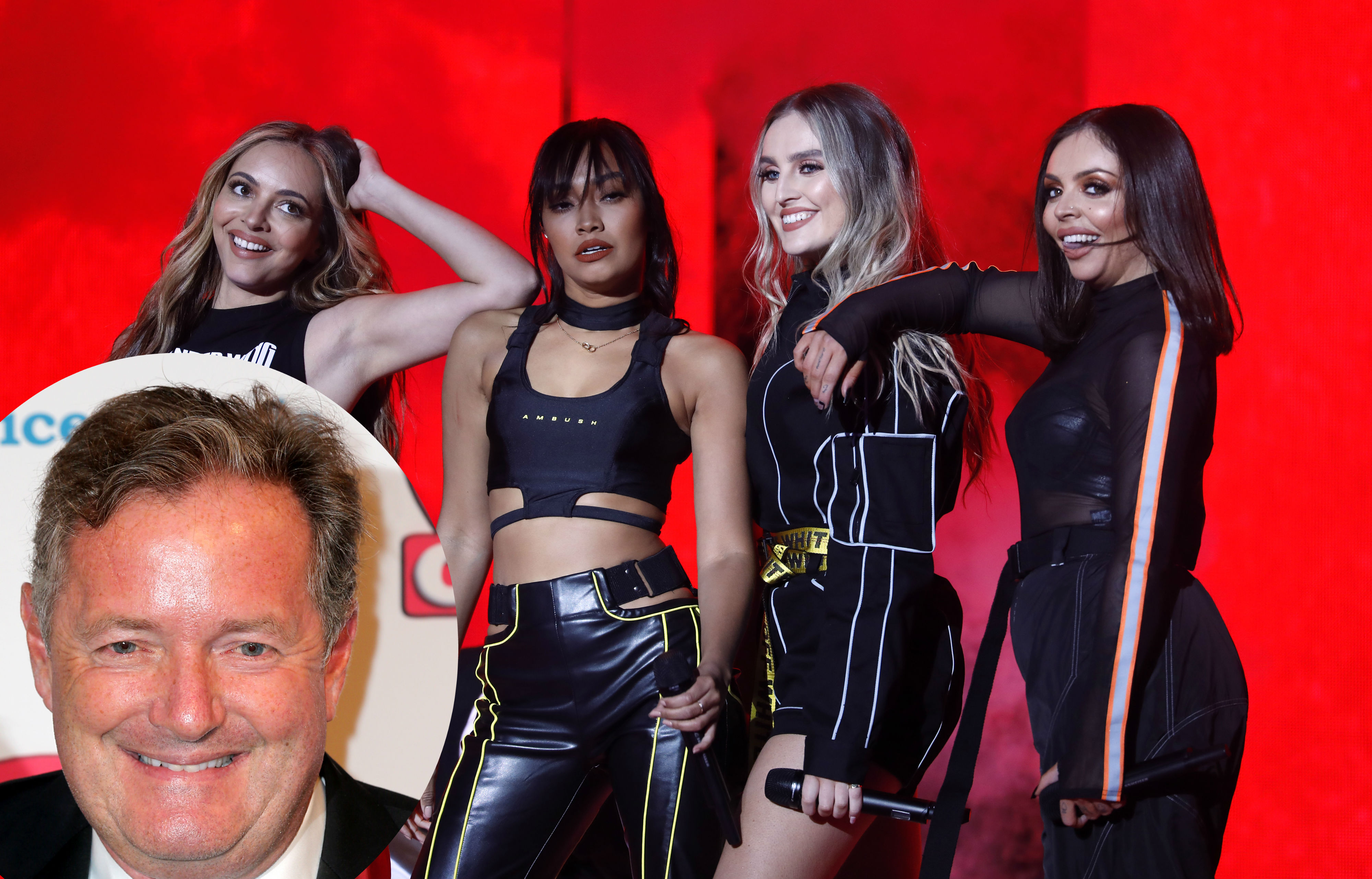 Piers Morgan and Little Mix have reignited their feud (Credit PA Images)