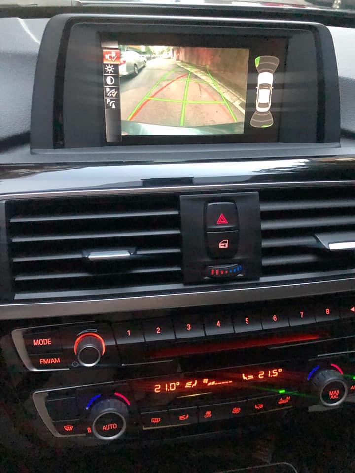 PDC停車距離控制系統讓逸帆停車更安全順手