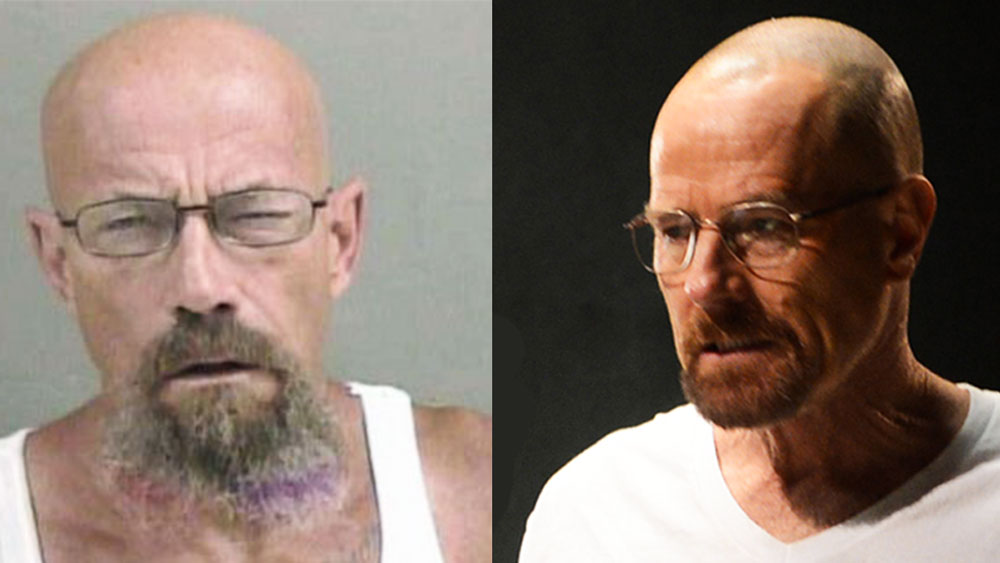 Walter White look-alike is wanted on meth charges — and more news you missed this week