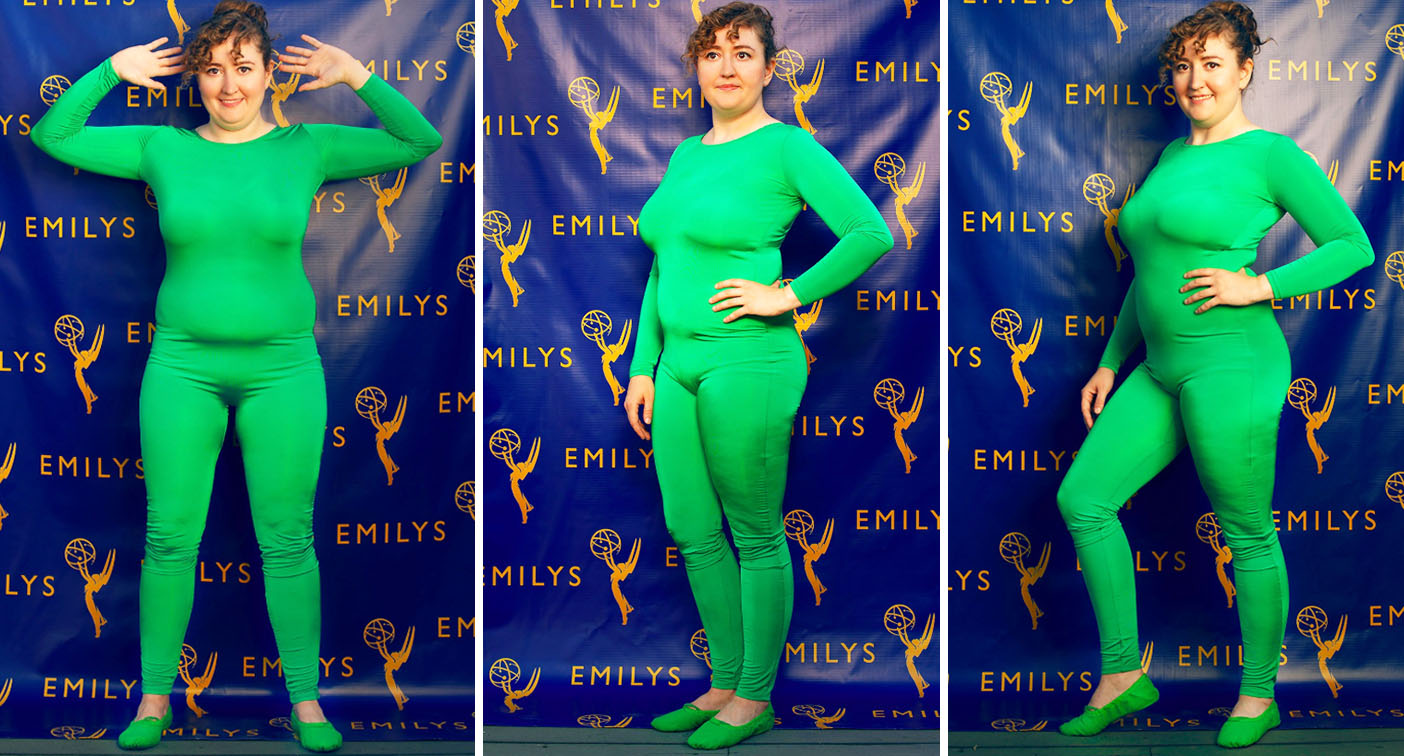 Emily Heller went viral after asking people to Photoshop her outfit. [Photo: Twitter]